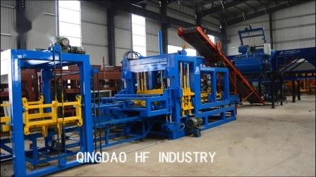 gamme de machines Qt6-15 automatique de bloc pour la vente machine à fabriquer des blocs de béton hydraulique