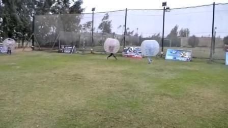 ビッグエア膨張式ヒューマンバブルバンパーボールボーリング用