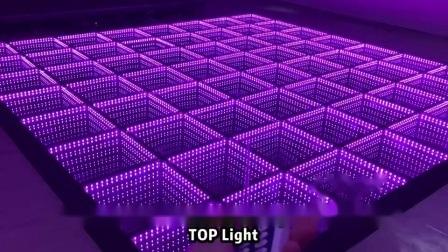 3D ミラーマグネットディスコ DJ ライティング LED ダンスフロアライト 北西のコストを採用
