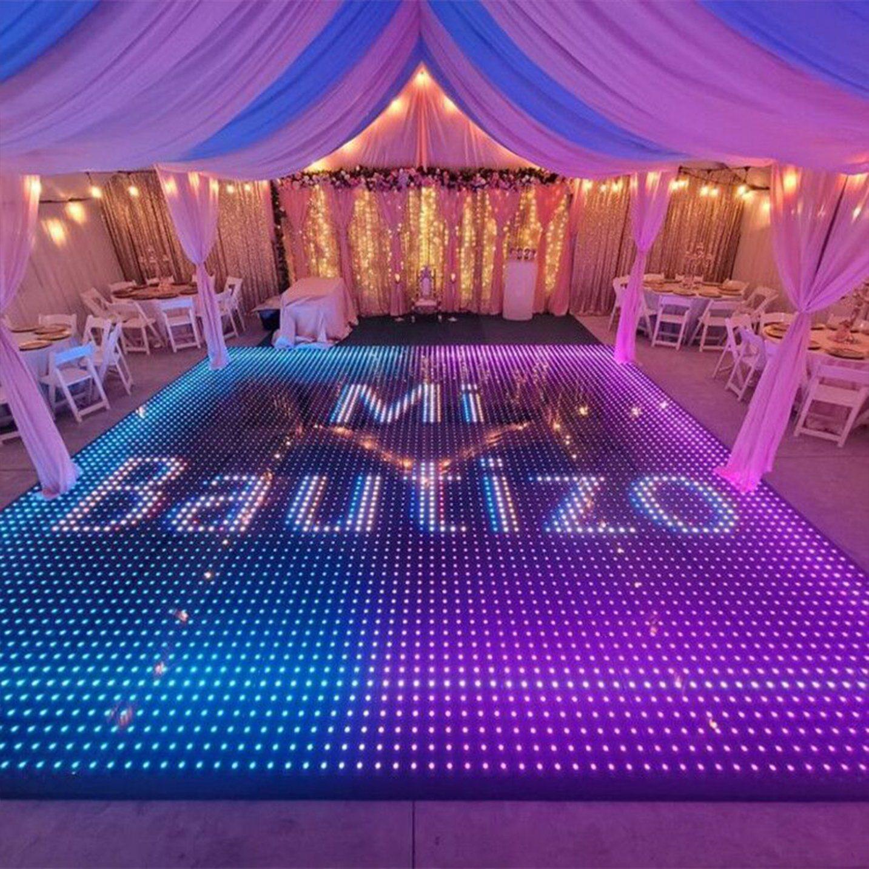 Tout nouveaux produits Meilleures mariage vidéo LED lumineux à LED plancher de danse disco de pixel de location de feux de Dubaï