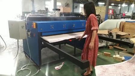 طابعة فرقمية لتدفئة تدفئة جهاز طاولة العمل المزدوج الهوائي