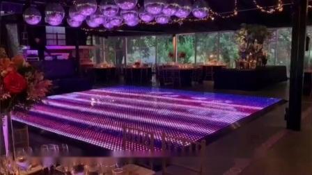 中国の新しい携帯用星明かりの結婚式の白アクリルのピクセルのダンスの床 ニューヨークのパネルレンタル
