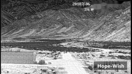 16km 検出用の長距離 PTZ サーマルカメラ