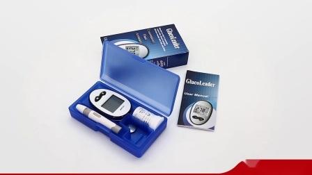 Elektronische bloedglucosemeter glucosemeter glucosemeter Bloedglucosemonitor voor thuis De stroken van de Test van de diabetes