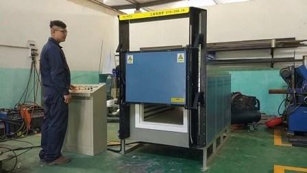 1200c 加熱処理用のラボ用実用的な吊り上げ / 上昇炉