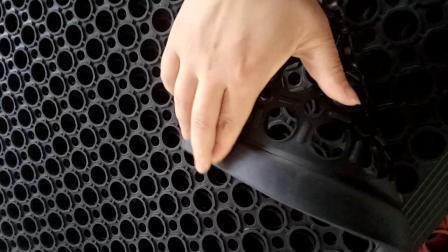 Tapetes de malha de borracha inalteráveis, Parque Infantil tapetes de segurança de Borracha