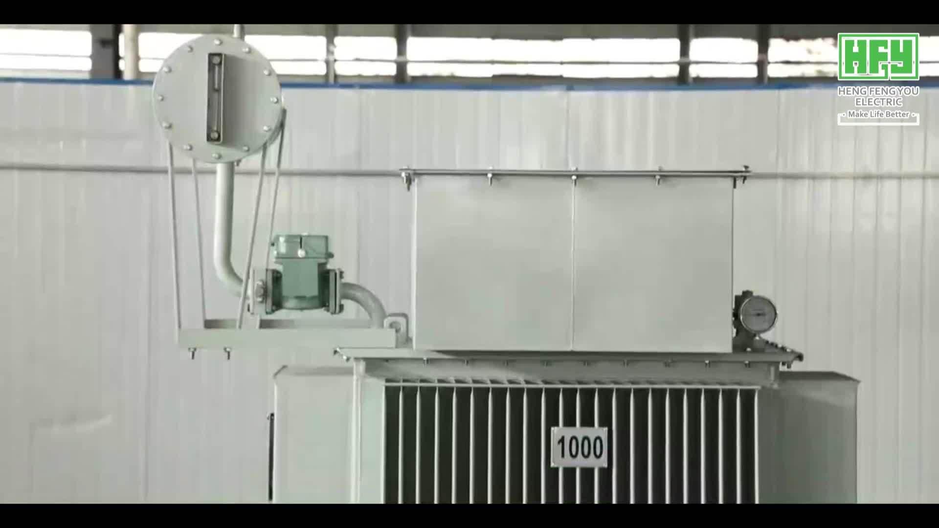 Trasformatori di potenza a 33 kv per uso di potenza con tipo olio per Cina