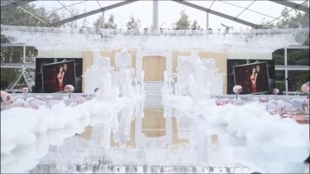 1000 pessoas teto transparente de luxo casamento festa de retângulo tendas para venda transparente tenda de casamento