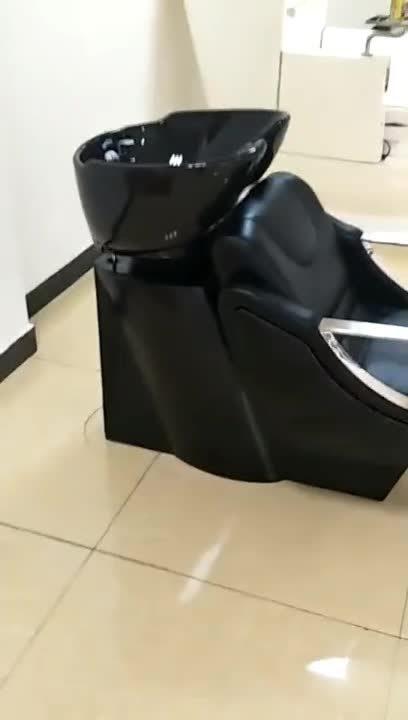 HL- 6040 Manufactory Commercio all'ingrosso Barbiere più conveniente Shampoo sedia capelli Lavamani
