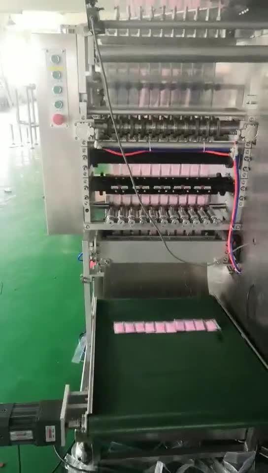 Sachet auto l'emballage de la machine pour Sauce liquide
