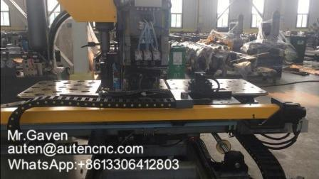 CNC ad alta velocità perforatrice idraulica per metallo Piastre