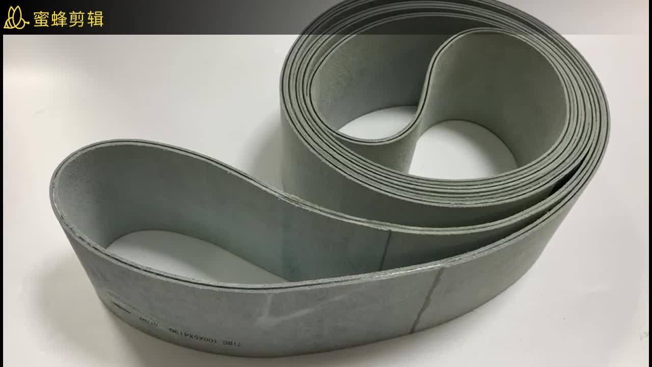 De Vlakke Riem van het leer, de Vlakke Transportband van het Leer, Industriële Riem 3mm, 4mm, 5mm, de Dikte van het Leer van 6mm