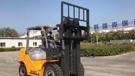 フォークリフトマテリアル 5 トン容量、高さ 6m