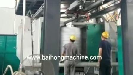 PP PVC HDPE PET 자동 공장 플라스틱 블로우 성형 제조 물 탱크 제조업체 압출 사출 성형 기계 가격 2000L