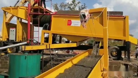 Gold Extraction alluvial Gold Recovery Equipment Zand Washing machine
