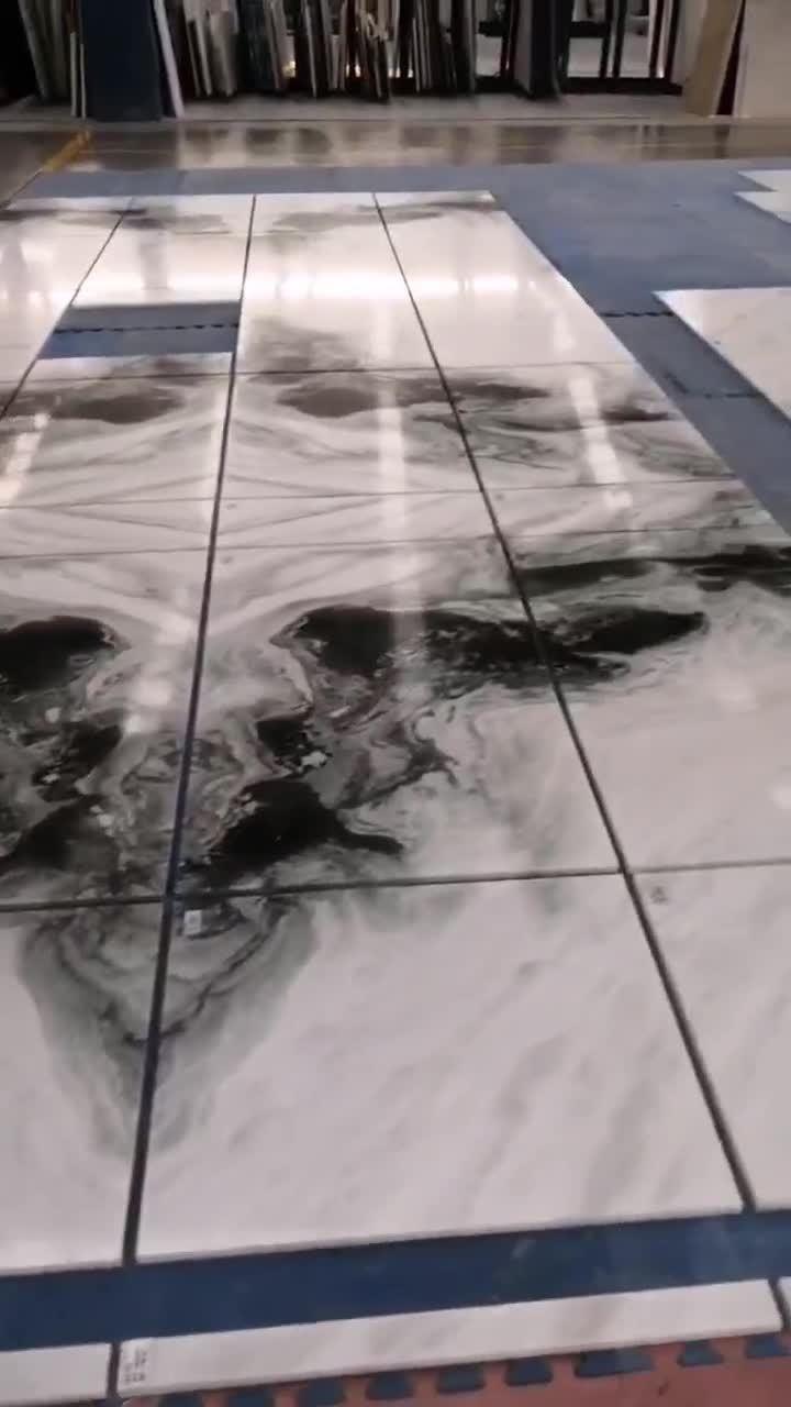 Roman Beige travertino pulido baldosas Cortadas Pavimento interior de los proyectos comerciales