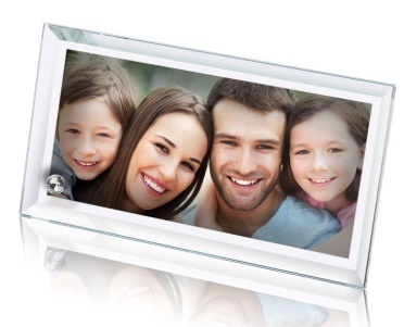 Hochwertige Sublimation Blank Glas Fotorahmen für maßgeschneiderte Foto Drucken