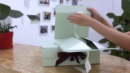 De cartón rígido personalizadas cierre magnético de embalaje plegable Embalaje de papel plegado de la caja de regalo para la confección de prendas de vestir/Cosmética//Artes y Oficios y calzado/Vela/Rosa/Don