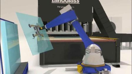 Landglass конвекции в горизонтальном положении 4-19мм с низким E ясно печь для закалки стекла