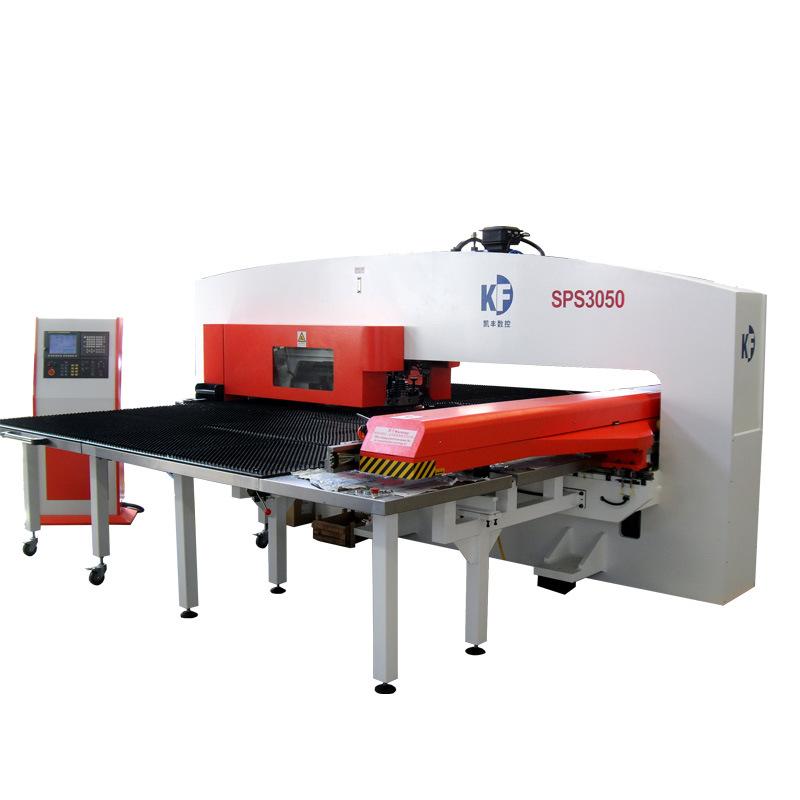30 toneladas de torreta CNC Máquina de prensa de perforación con controlador Fanuc