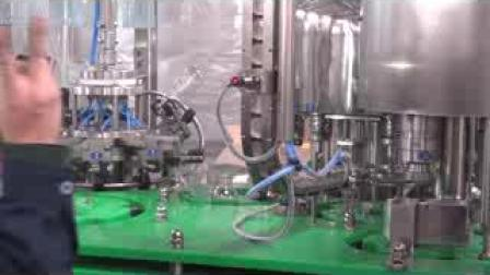 자동 유리병 주스 밀봉 주입구 음료 포장 충진 기계