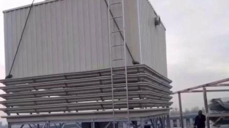高品質産業用 FRP カウンターフロー冷却タワー 700 トン