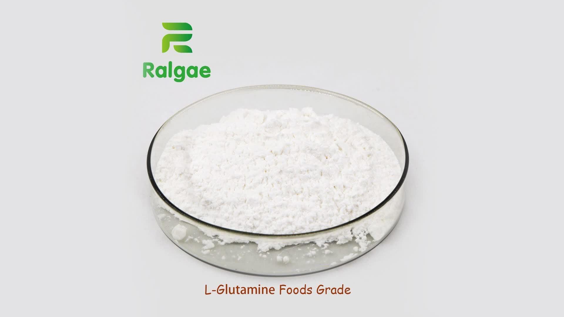 L-Glutamina Nutrición aditivos de alimentos de calidad alimentos nutracéuticos suplemento