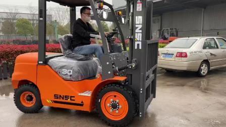 3000 kg ディーゼルフォークリフタートラックの価格