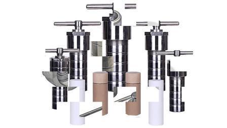 실험실 열처리 합성 고압 증기 살균 반응기 PTFE 라인 용기 150ml