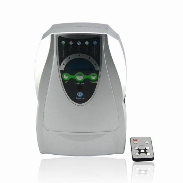 Beweglicher Ozon-Generator-Luft-Hauptreinigungsapparat mit 500mg/H u. LCD-Bildschirmanzeige