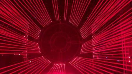 Rote Laserlicht LED 8*3W Disco Licht
