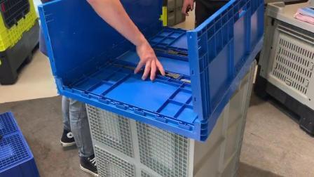 Crate in plastica pieghevoli di alta qualità per il trasporto