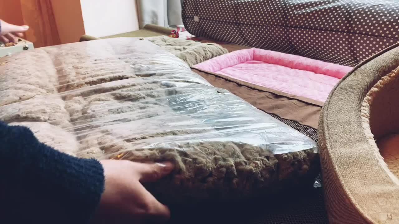 Hohes Quaulity und Komfort-Hunde-und Katze-Bett (WY1610104-2A/B)