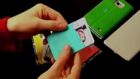 Silikon-Kreditkartenetui Geld Handy-Tasche Halter