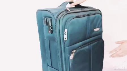 La venta de Chubont caliente impermeable de nylon Ruedas Spinner Luggage Set
