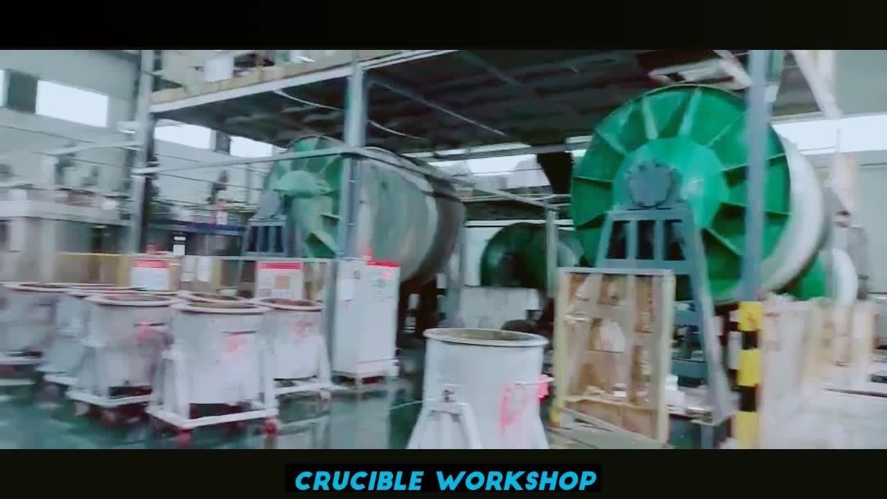 Высокая температура сопротивление кремния с плавким предохранителем Crucibles для плавления