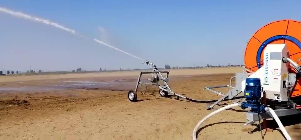 Сельского хозяйства для мобильных устройств автоматического пожаротушения фермы орошения Roll System машины