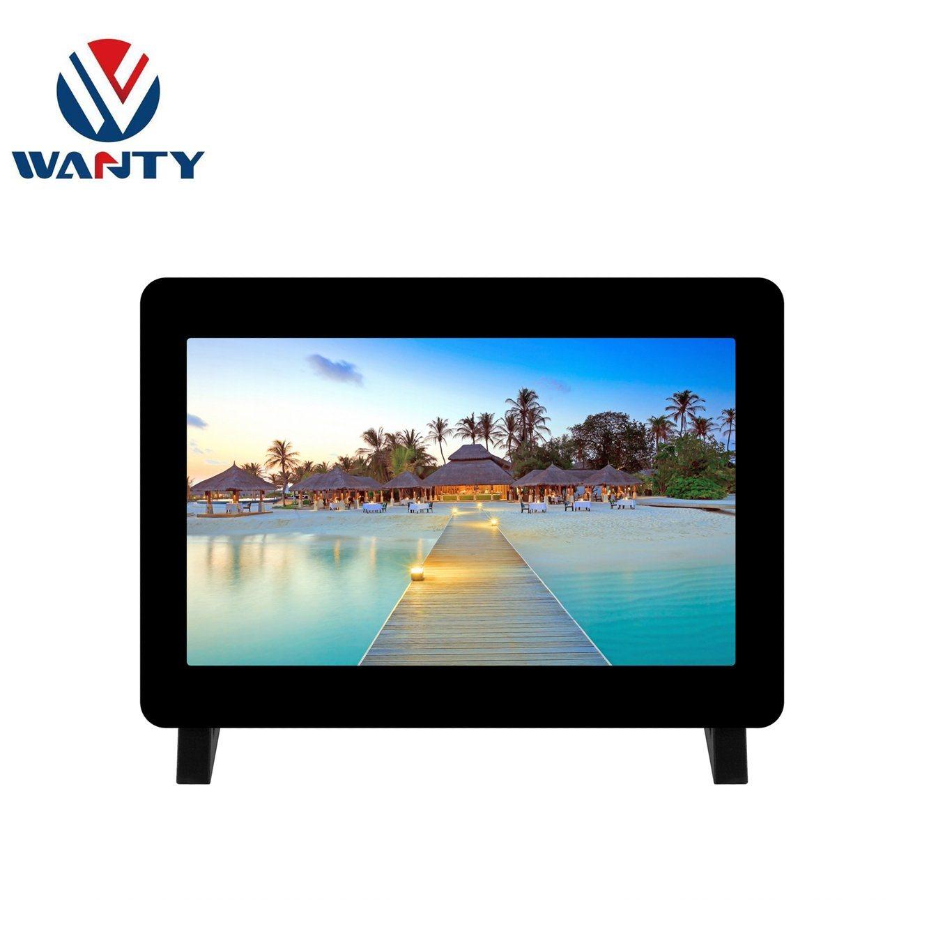 Wanty 7 pulgadas de 1024x600 Cap-panel táctil Acrylic Case Raspberry Pi 3 4 Toque la pantalla del Monitor de pantalla táctil LCD TFT Kits