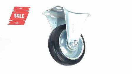 Goma de 4 pulgadas ruedas rígidas japonés