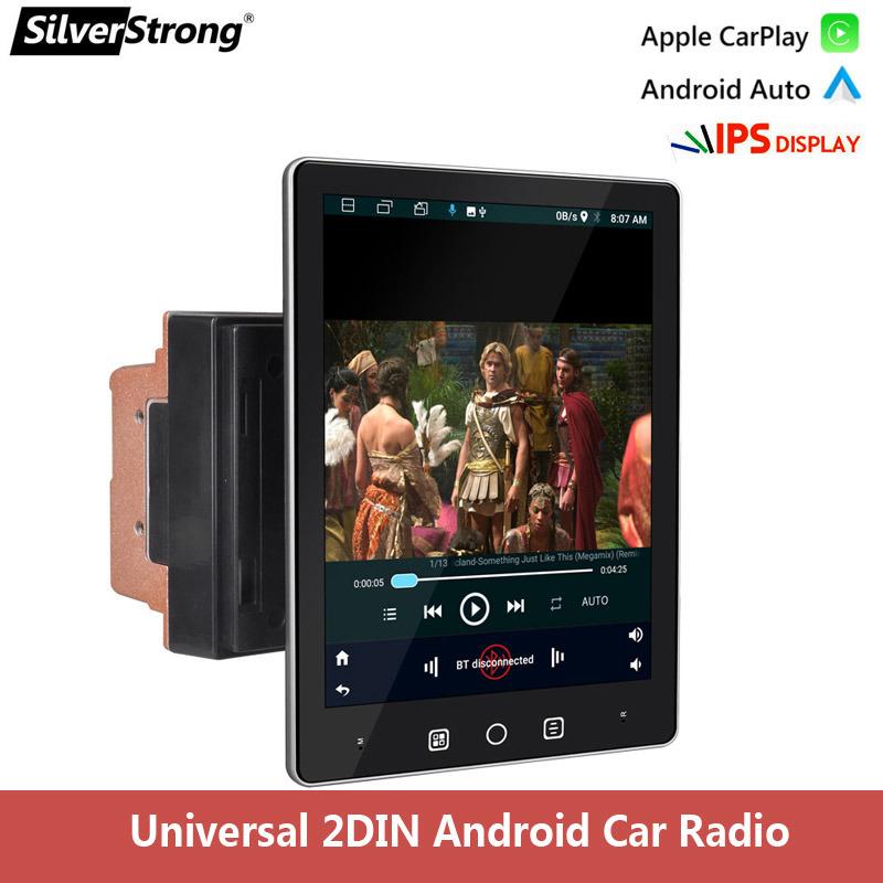 9.5인치 2 DIN Android 카 멀티미디어 플레이어 이동식 및 VW Nissan 현대기아용 조절식 스크린 스테레오 라디오 DVD 도요타