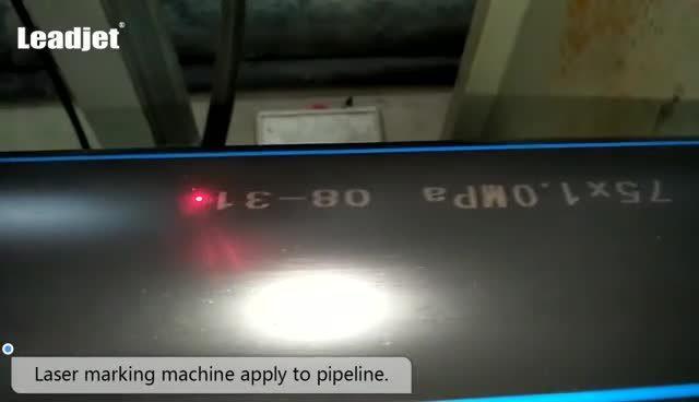 Leadjet 20 W Fibre machine de marquage au laser Fabricant OEM support ODM Persan