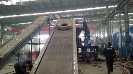 Smerigliatrice in polvere per gomma per il riciclaggio di pneumatici usati