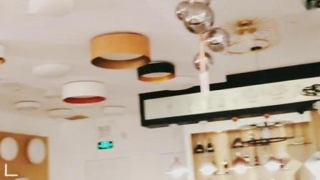 Современный крытый&внутренних дел за круглым столом с одной спальней белого стекла потолочный светильник освещение светодиодный индикатор