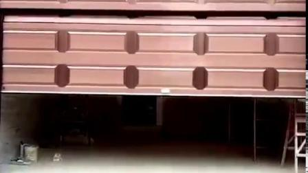 Controle remoto de segurança transversal Comercial Industrial Automático Porta de Garagem à prova de fogo