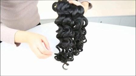 Gute Qualität Unverarbeitete Indische Remy Haar Natürliche Raw Virgin Human Haare