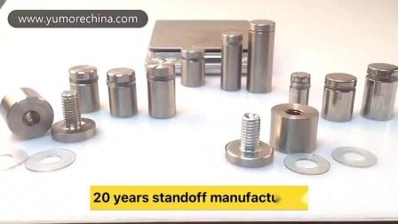 Kundenspezifische Metall Edelstahl Eisen Abstandshalter Distanzhalter Gewindestoff