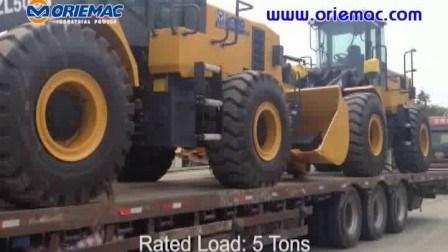 China Oriemac Lader Zl50gn van het Wiel van 5 Ton de Goedkope