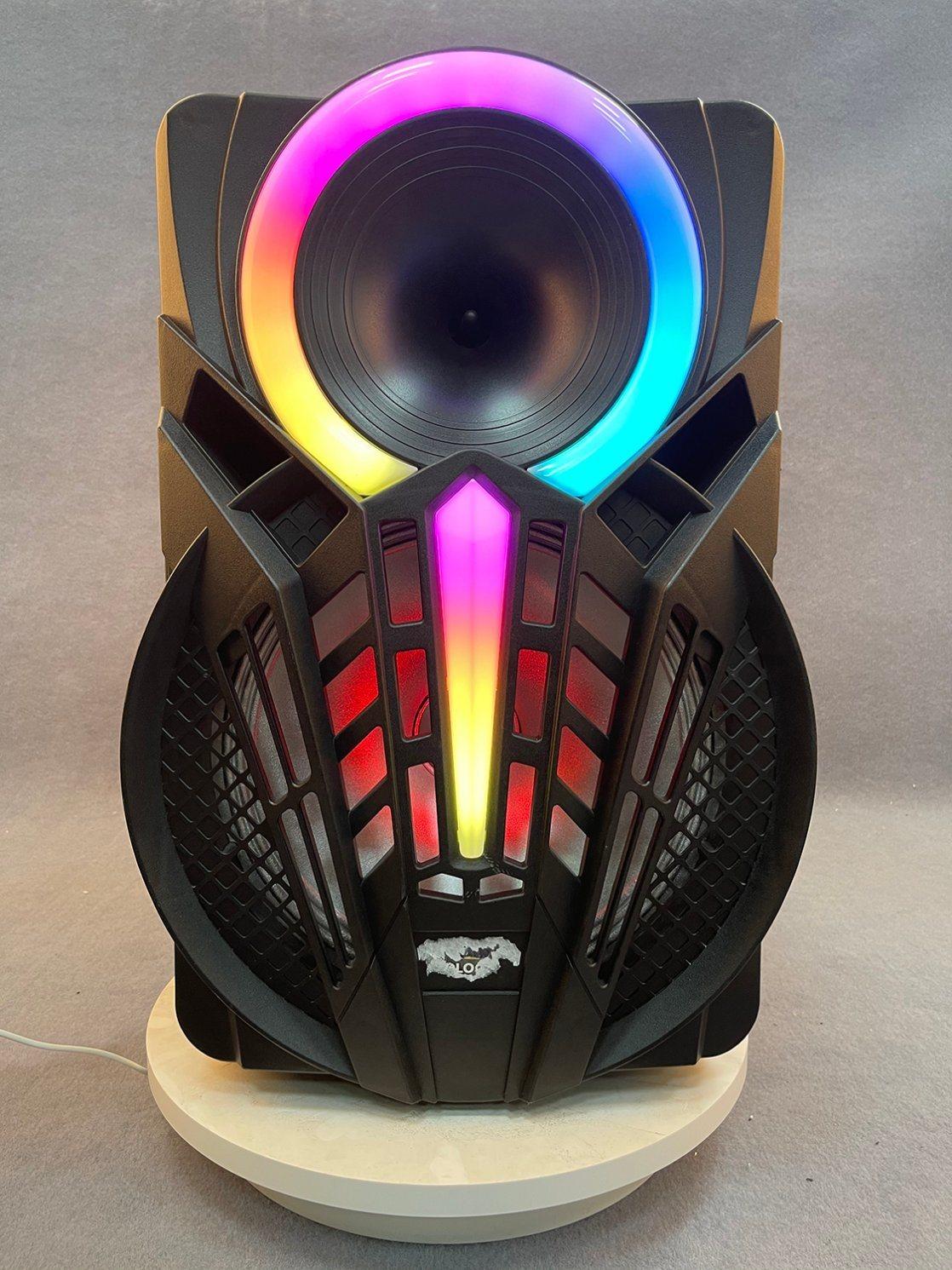 Professioneller Audiotrolley HiFi Tragbarer kabelloser Bluetooth PA-Sound im Freien Bühne DJ Party Dance Lautsprecher mit Licht aktiv Lautsprecher GZ-P08