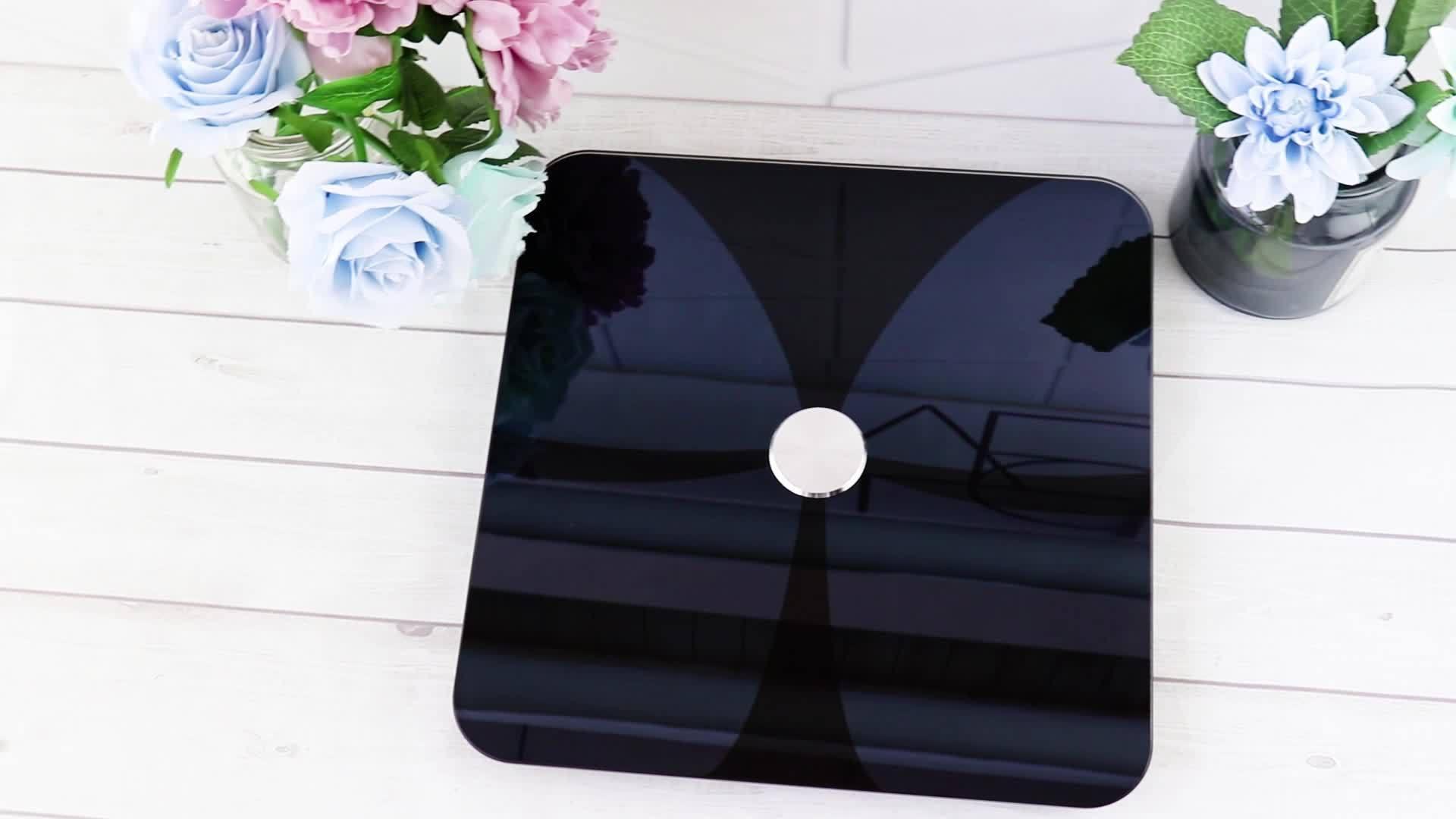 Digitaal ITO-platform BMI Bluetooth Smart Body Fat Scale