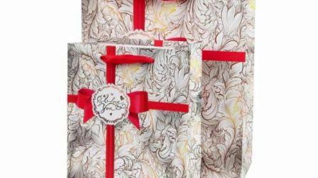 Comercio al por mayor bolsas de papel de regalo, bolsas de cartón blanco, bolsa de papel Kraft